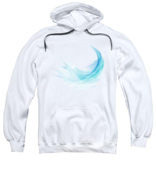 Abstract Feather Sweatshirt