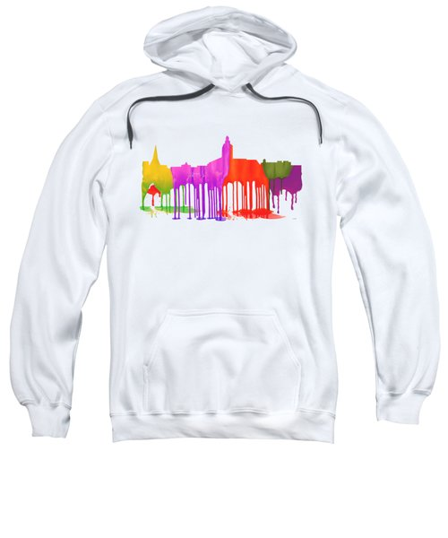 Annapolis Maryland Skyline      Sweatshirt