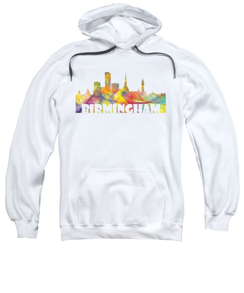 Birmingham England Skyline Sweatshirt
