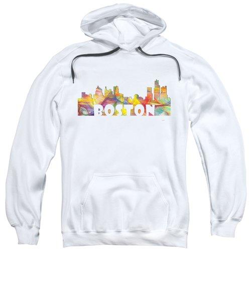 Boston Massachusetts Skyline Sweatshirt