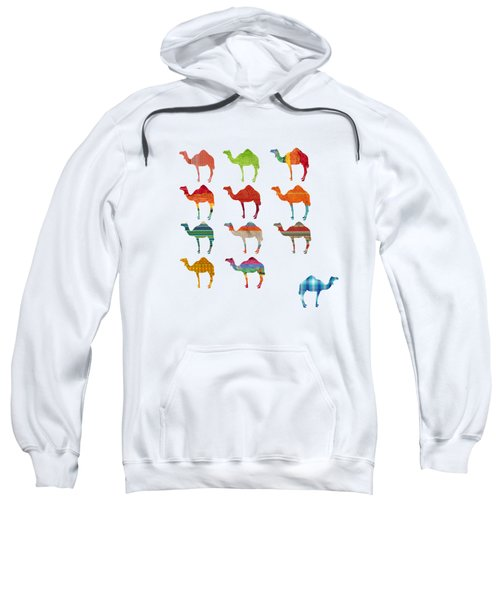 Camels Sweatshirt by Art Spectrum