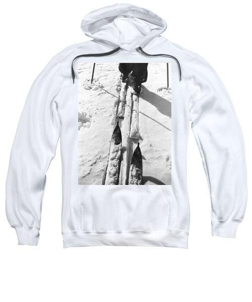 Cross Country Skiing Sweatshirt