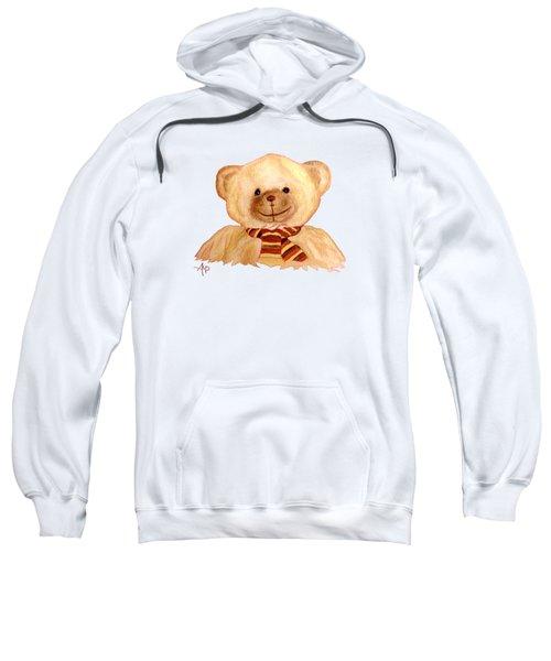 Cuddly Bear Sweatshirt by Angeles M Pomata