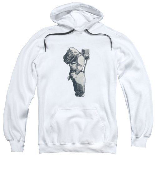 Deep Sea Diver - Nautical Design Sweatshirt