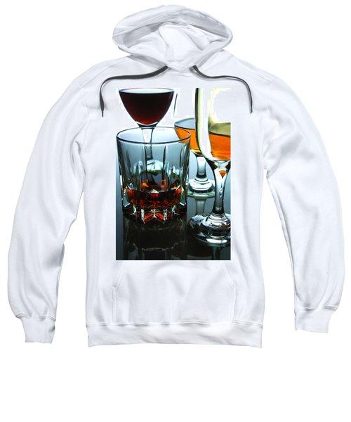 Drinks Sweatshirt by Jun Pinzon