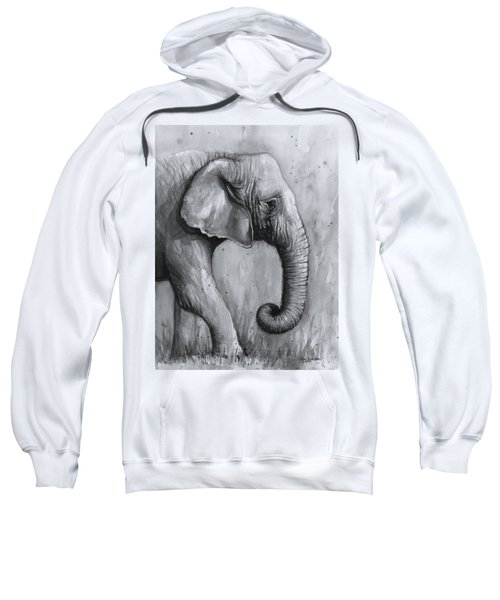 Elephant Watercolor Sweatshirt