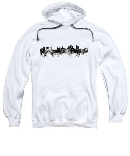 Fayetteville Arkansas Skyline Sweatshirt by Michael Tompsett