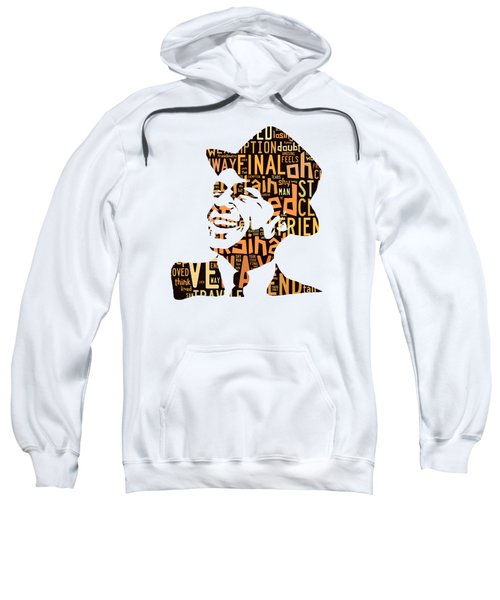 Frank Sinatra I Did It My Way Sweatshirt by Marvin Blaine
