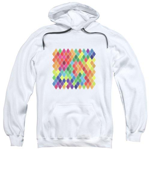 Geometric Background Sweatshirt