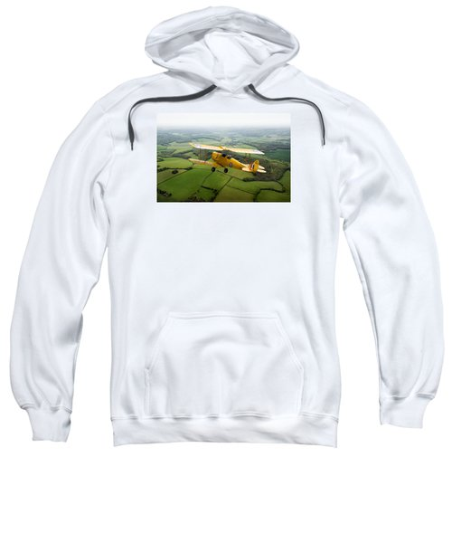 Sweatshirt featuring the photograph Going Solo by Gary Eason