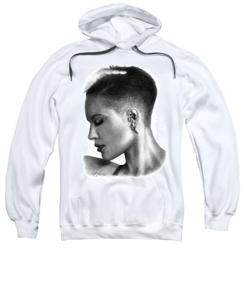 Halsey Drawing By Sofia Furniel Sweatshirt