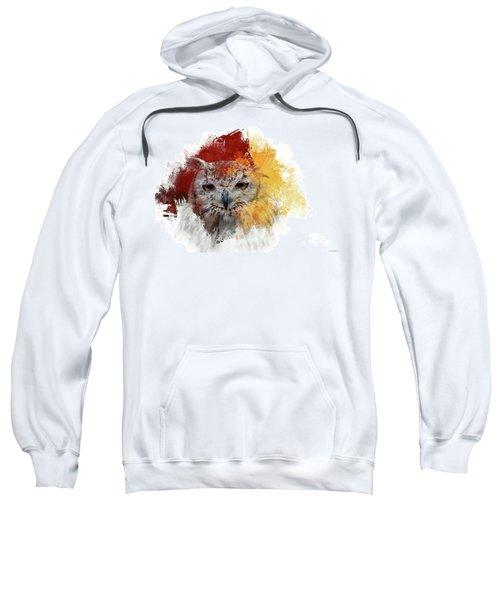 Indian Eagle-owl Sweatshirt