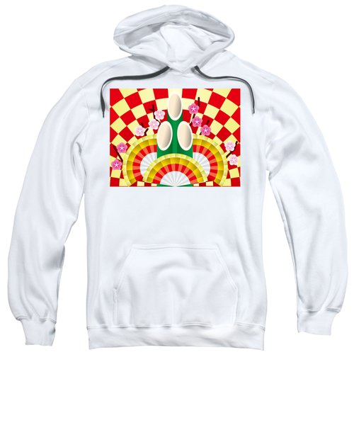 Japanese Newyear Decoration Sweatshirt