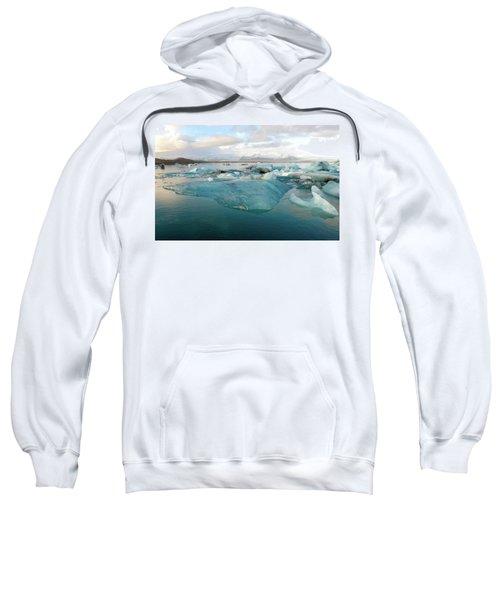 Jokulsarlon The Glacier Lagoon, Iceland 2 Sweatshirt