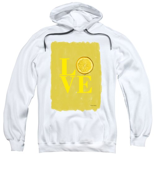 Lemon Sweatshirt by Mark Rogan