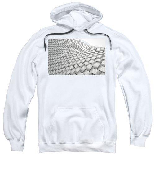 Micro Fabric Weave Clean Sweatshirt