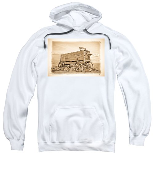 Old West Wagon  Sweatshirt