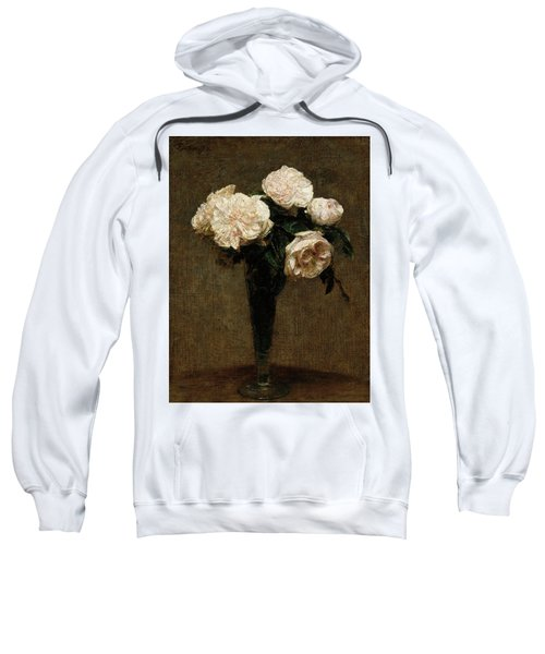 Roses In A Vase Sweatshirt