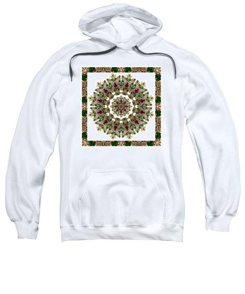 Ruby And Emerald Kaleidoscope Sweatshirt