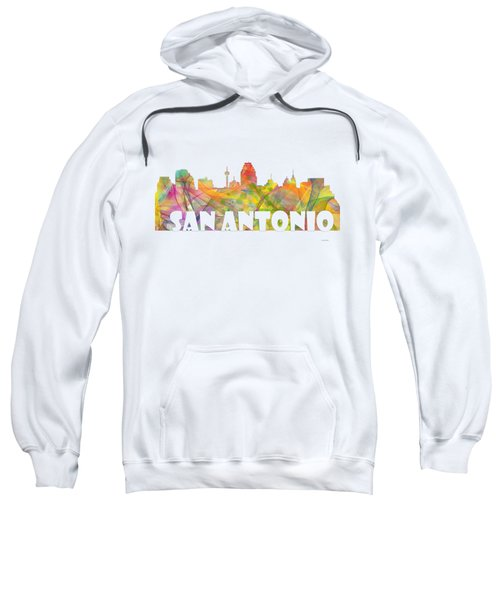 San Antonio Texas Skyline Sweatshirt