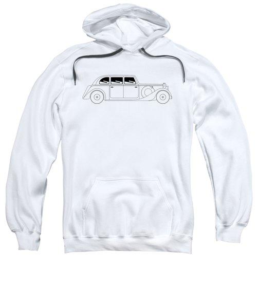 Sedan - Vintage Model Of Car Sweatshirt