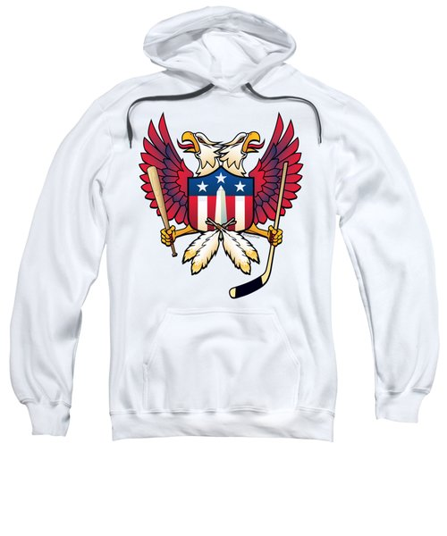Washington Dc Double Eagle Sports Fan Crest Sweatshirt