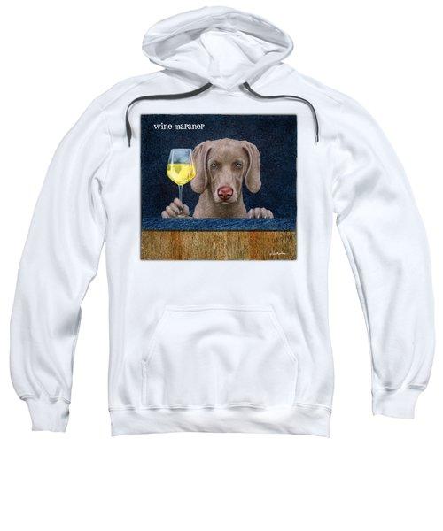 Wine-maraner Sweatshirt