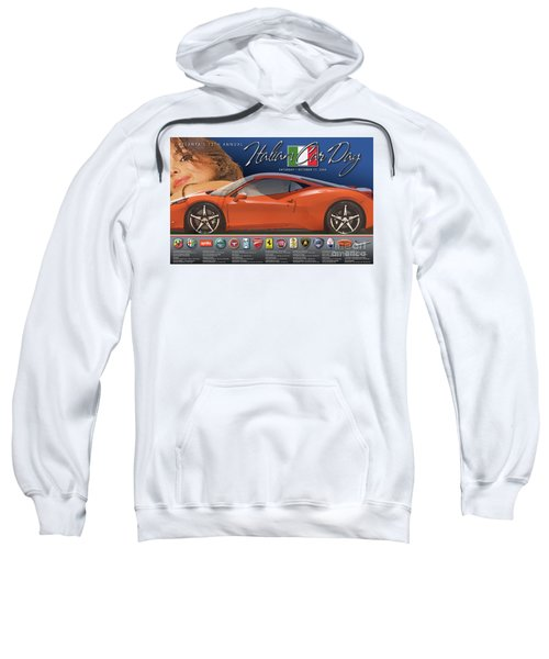2009 Atlanta Italian Car Day Poster Sweatshirt