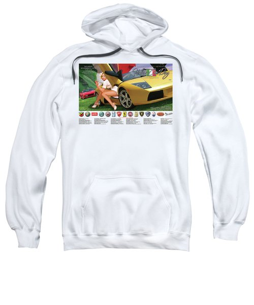2014 Atlanta Italian Car Day Poster Sweatshirt
