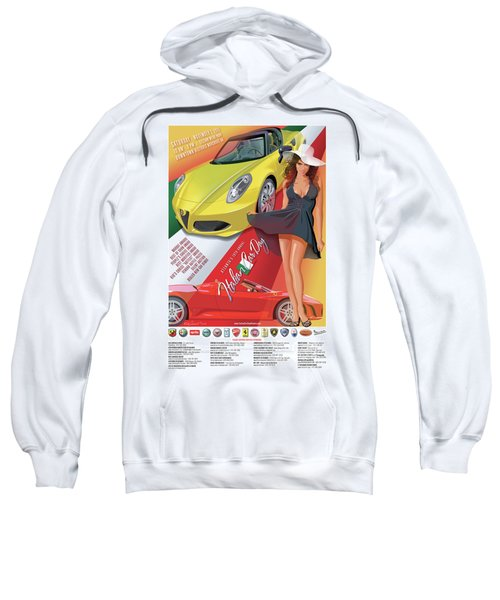 2015 Atlanta Italian Car Day Poster Sweatshirt