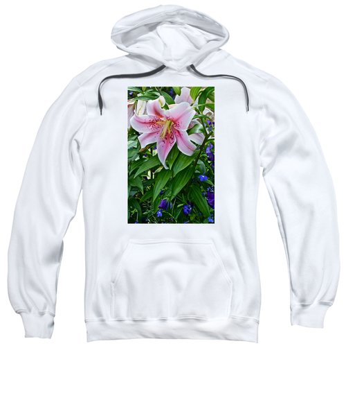 2015 Summer At The Garden Event Garden Lily 3 Sweatshirt