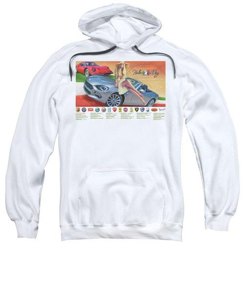 2016 Atlanta Italian Car Day Poster Sweatshirt
