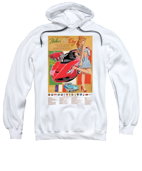 2017 Atlanta Italian Car Day Poster Sweatshirt