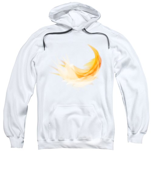 Abstract Feather Sweatshirt