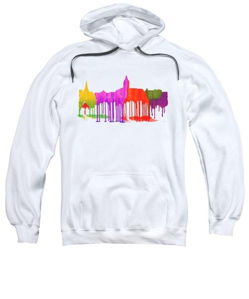 Annapolis Maryland Skyline      Sweatshirt by Marlene Watson