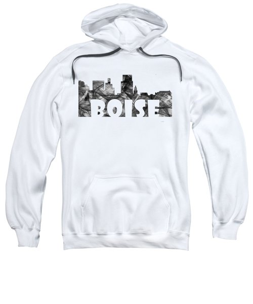 Boise Idaho Skyline Sweatshirt