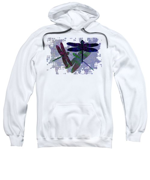 3 Dragonfly Sweatshirt by Jack Zulli