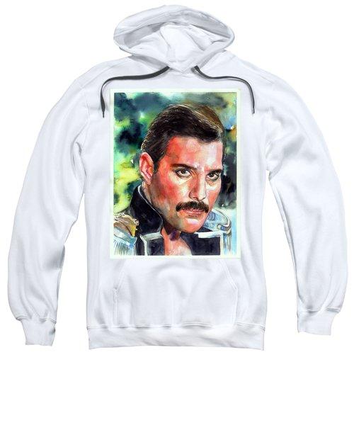 Freddie Mercury Portrait Sweatshirt