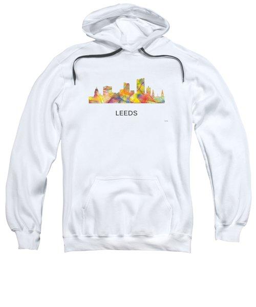 Leeds England Skyline Sweatshirt by Marlene Watson