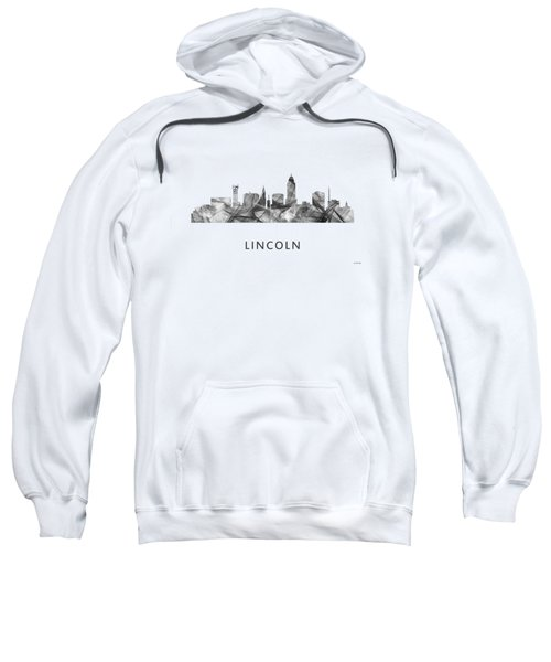 Lincoln Nebraska Skyline Sweatshirt
