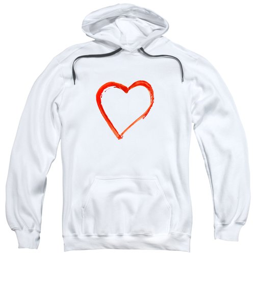 Painted Heart - Symbol Of Love Sweatshirt