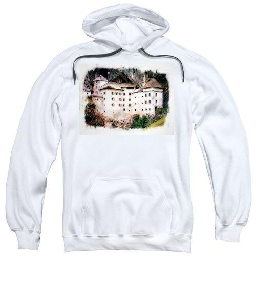 Predjama Castle, Predjama Slovenia Sweatshirt