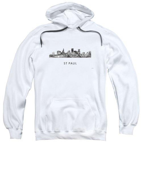 St Paul Minnesota Skyline Sweatshirt