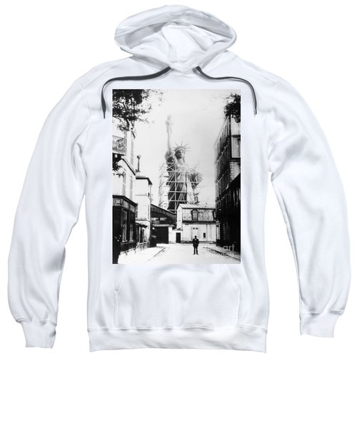 Statue Of Liberty, Paris Sweatshirt