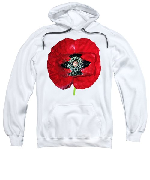 Poppy Flower Sweatshirt