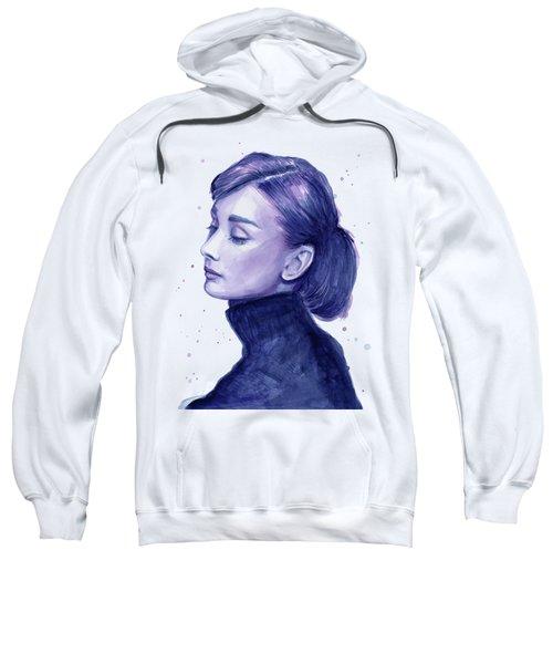 Audrey Hepburn Portrait Sweatshirt
