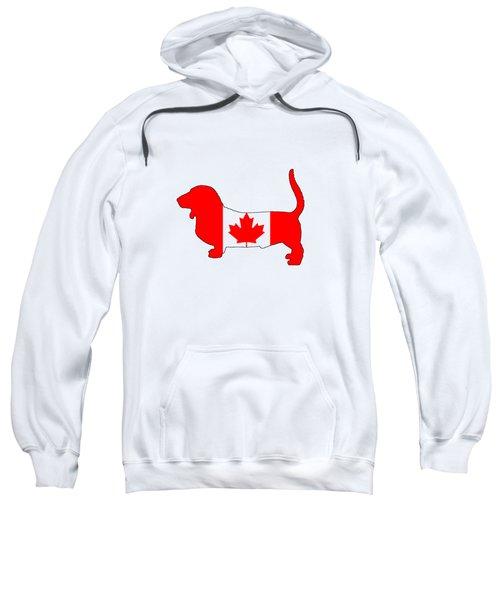 Basset Hound  Sweatshirt by Mordax Furittus