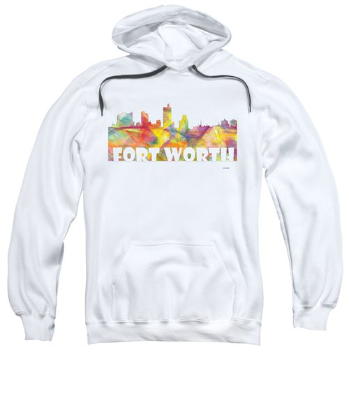 Fort Worth Texas Skyline Sweatshirt