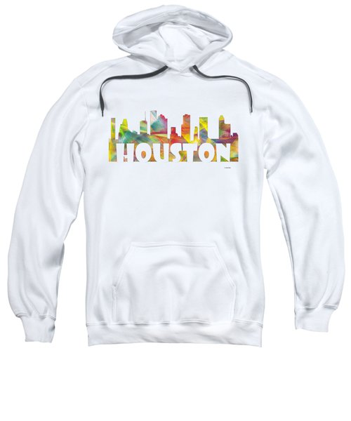 Houston Texas Skyline Sweatshirt