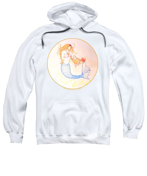 Mermaid Sweatshirt by M Gilroy